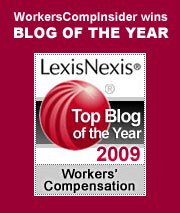 LexisNexis Workers' Comp Law Center Top Blog of the Year